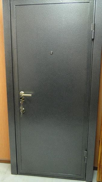 металлические двери эконом без отделки для дачного дома купить в бронницах